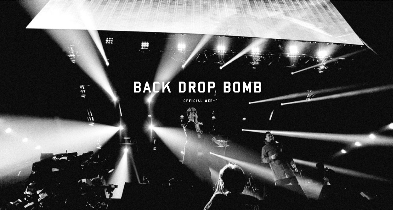 BACK DROP BOMB / Web
