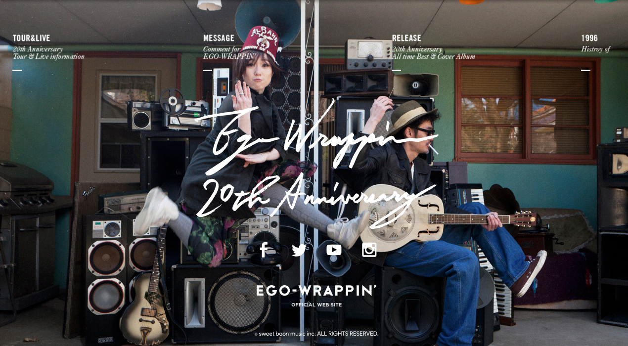 EGO-WRAPPIN' 20th / Web