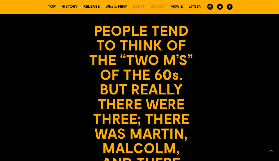 MOTOWN 60th ANNIVERSARY / Web